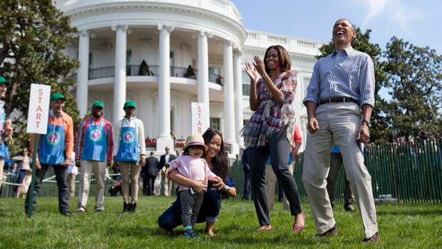 Obama hosts Easter Egg Roll at the White House