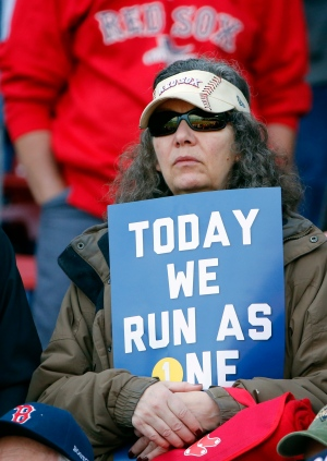 'Boston Strong': Runners take part in marathon