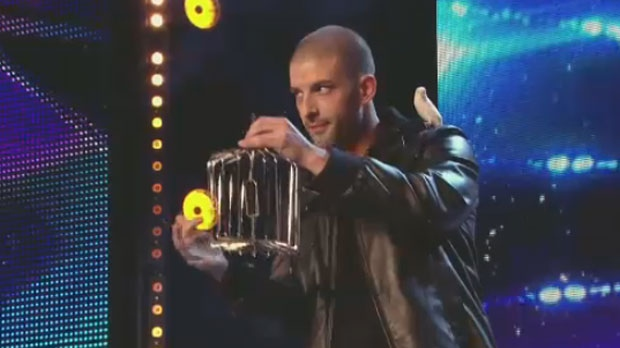Darcy Oake appears on Britain's Got Talent on April 19, 2014.