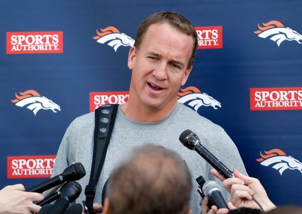Denver Broncos quarterback Peyton Manning