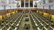 A file photo shows the House of Commons on Sept. 10, 2009