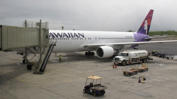 Hawaiian Airlines Flight 45 in Kahului