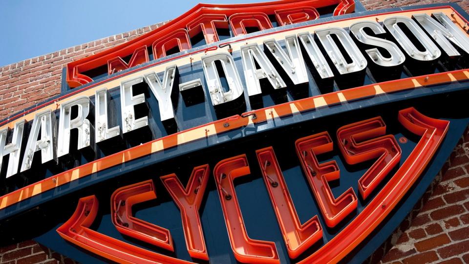 A Harley-Davidson store in Glendale, Calif. seen on July 16, 2012. (AP / Grant Hindsley, File)