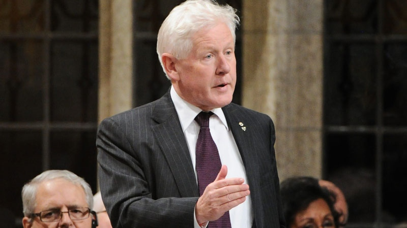 Liberal interim leader Bob Rae responds to a question during question period in the House of Commons on Parliament Hill in Ottawa on Wednesday, Oct. 26, 2011. (Sean Kilpatrick / THE CANADIAN PRESS)