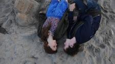 Felicity Jones and Anton Yelchin in Paramount Vantage's 'Like Crazy.'