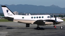 A nine-passenger Beechcraft King Air 100 aircraft is shown in this undated image. (Courtesy: Thomas Ingendom)