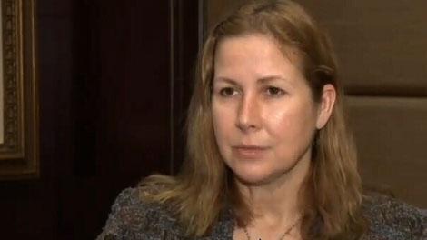 Plane crash survivor Carolyn Cross is seen in this undated file image.