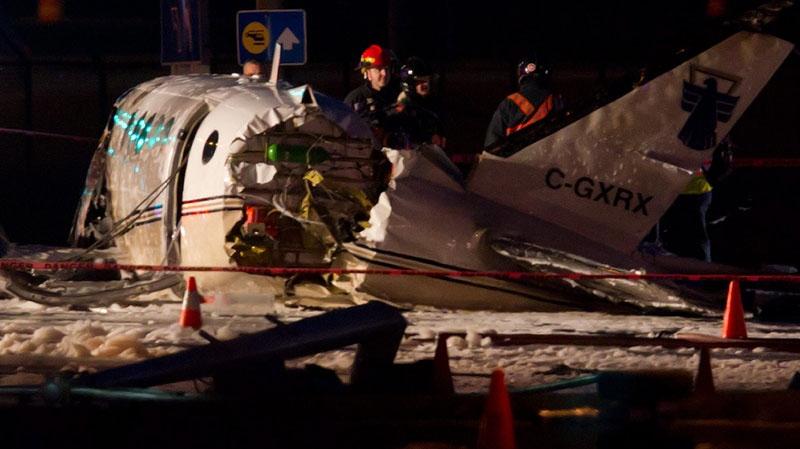 Vancouver plane crash, YVR