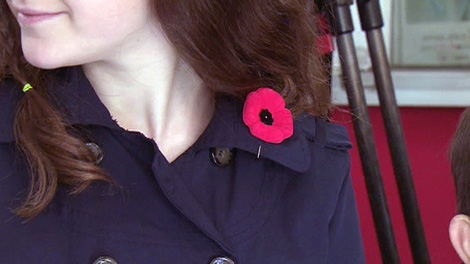 Austin Delaney reports as veterans fan out across the city to start the annual distribution of poppies ahead of Remembrance Day.
