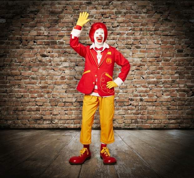 Ronald McDonald gets new suit