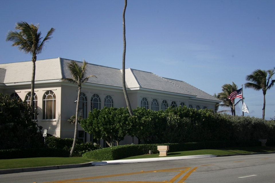 The Palm Beach Country Club in Florida is shown Wednesday, Dec. 17, 2008. (AP Photo)