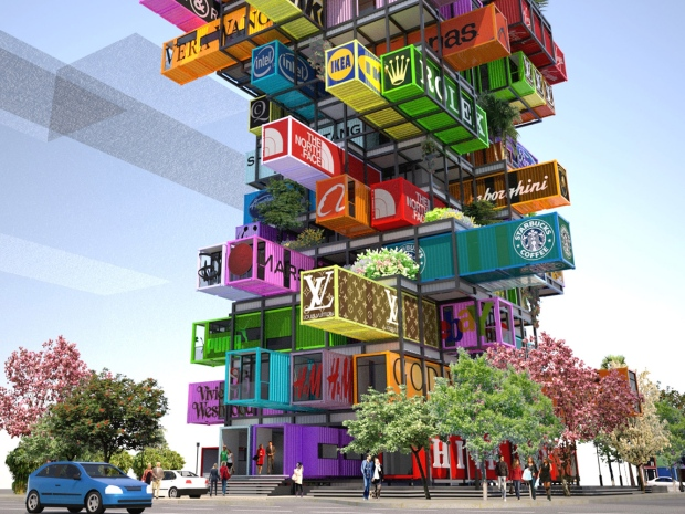 39 Jenga 39 Hotel Made Of Recycled Shipping Containers Could Be Next Architectural Trend Ctv News