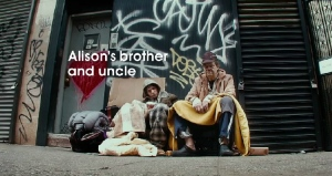 The New York City Rescue Mission released a video called 'Have the Homeless Become Invisible?' in a campaign to humanize the homeless (YouTube screen grab).