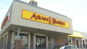 Asian Buffet is one of two Calgary restaurants ordered to stop buffet-style service. (File photo)