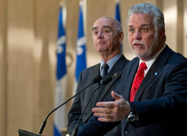 Couillard says he'll work with Ottawa