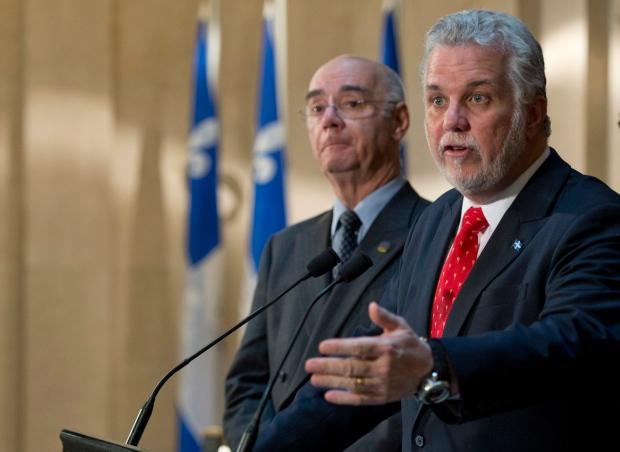 Couillard says he'll work with Ottawa