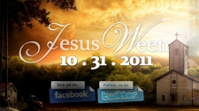 'JesusWeen is a non profit organization also known as JesusWin. We are focused on helping people live better lives,' the website says.