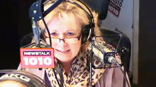 Suspended senator Pamela Wallin on CFRB