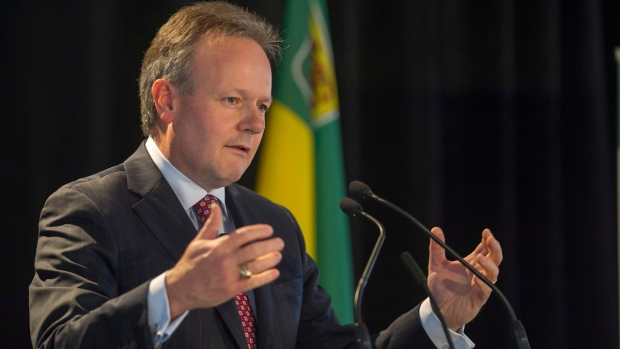 Bank of Canada Governor Stephen Poloz in Saskatoon