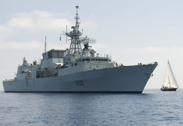 HMCS Ville de Quebec is a multi-role patrol frigate.