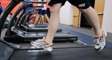 Treadmill running exercise