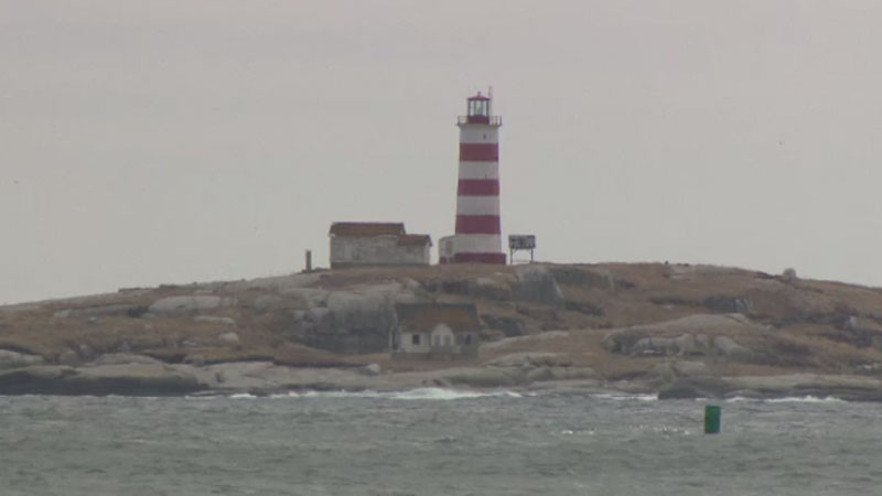 The Sambro Island Lighthouse is more than 250 years old and was designated a national historic site in 1937.