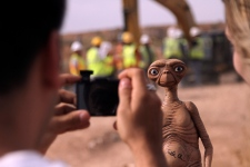 E.T. doll in Alamogordo, N.M.