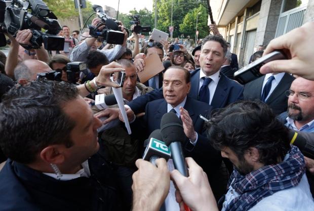 Former Italian Premier Silvio Berlusconi