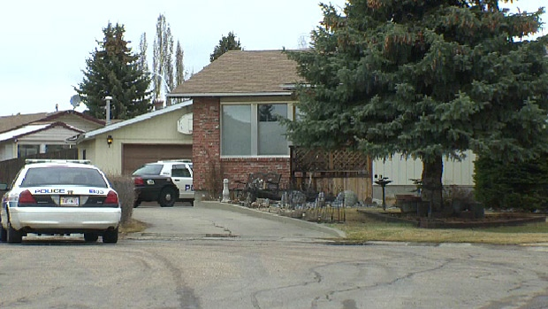 The Edmonton home where Gina Robinson was found fatally injured on April 21, 2014.