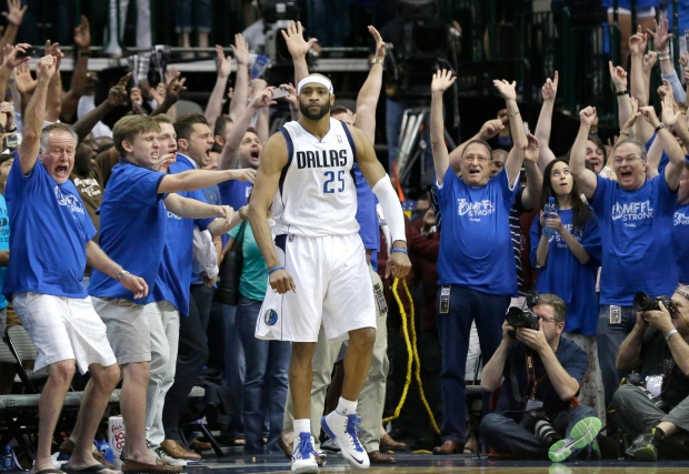 Vince Carter after 3-point basket