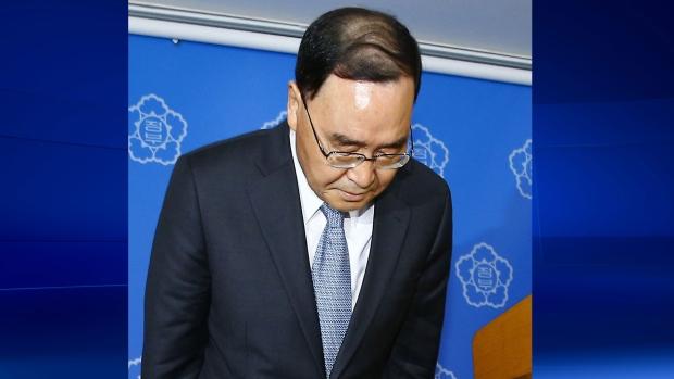 South Korea Prime Minister resigns