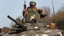 Pro-Russian milita captures 3 Ukrainians