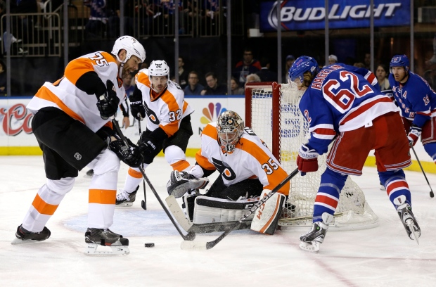 Philadelphia Flyers vs. New York Rangers
