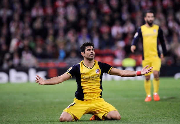 Athletico Madrid Diego Costa