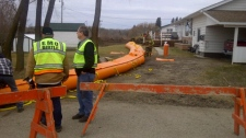 Tube dikes installed in Birtle
