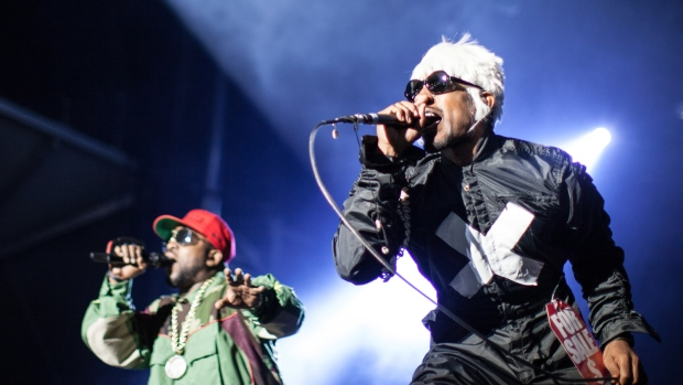 Outkast perform at Countpoint festival
