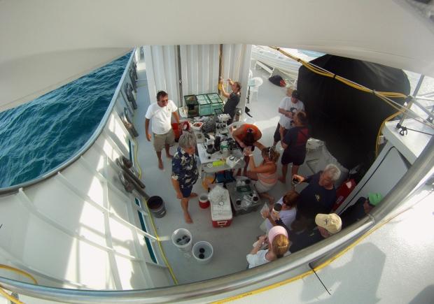 Floating lab