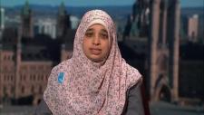 Sarah Attia wife of jailed man Khaled Al-Qazzaz