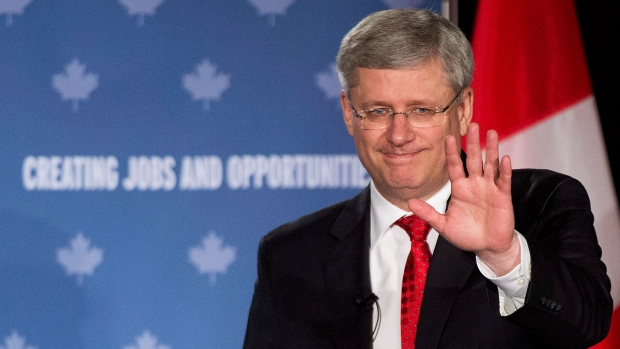 Prime Minister Stephen Harper in Kitchener