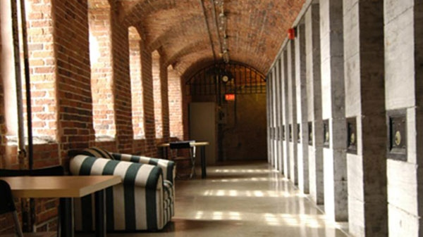 The Ottawa Jail Hostel was built in 1862 and is reported to be haunted.(Image courtesy HI-Ottawa Hostel).