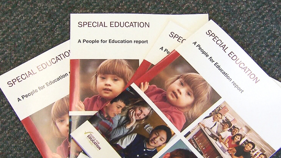 A new study shows nearly half of Ontario's elementary school principals have recommended students with special education needs not attend school the full day.