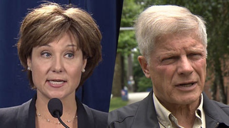 A new poll suggests centre-right voters are split between the BC Liberals and Conservatives. Nov. 3, 2011. (CTV)