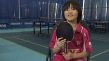 Ping pong is Laura's passion, and when she plays, it looks like a dance. Nov. 3, 2011. (CTV)