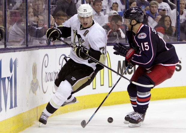 Pittsburgh Penguins' Evgeni Malkin