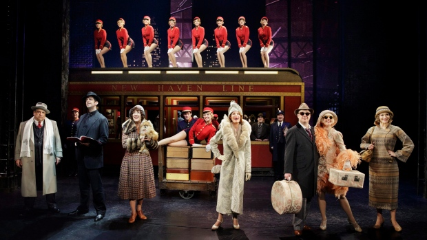 'Bullets Over Broadway' contender at Tonys