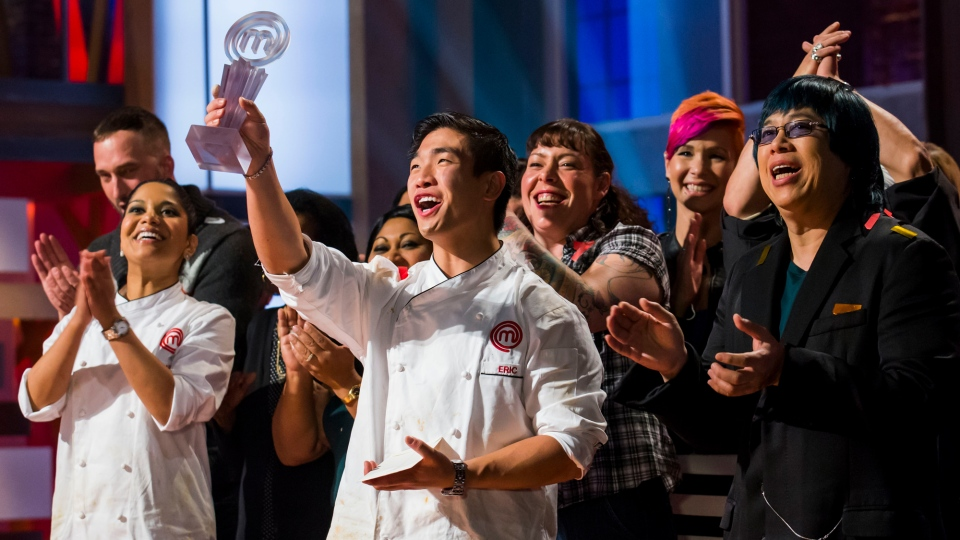 Eric Chong wins first ever Masterchef Canada