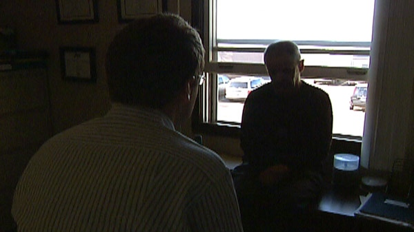 Gary Peters of Can/Aus Security, speaks with CTV News in Cambridge, Ont. on Friday, Nov. 4, 2011.