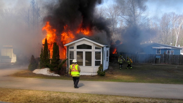 Ottawa Trailer Sales >> Beaver Ridge Trailer Park Fire | CTV News Barrie