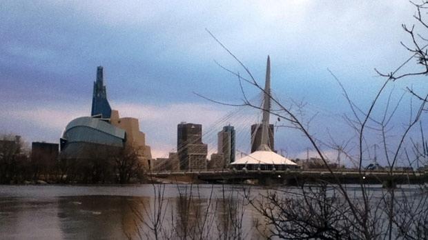 Winnipeg skyline. Photo by Zerlina Mink.