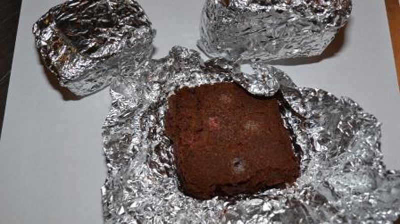 Brownies and marshmallow treats are among forms of pot-infused foods that could be tempting to kids, according to RCMP. April 29, 2014. (Handout)
